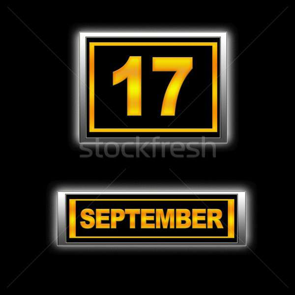 September 17. Stock photo © asturianu
