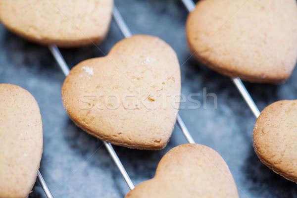 Coração bolinhos Foto stock © avdveen