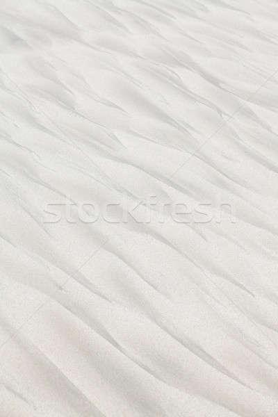 奇妙な パターン 海浜砂 自然 夏 色 ストックフォト © avdveen