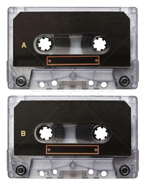 audio cassette isolated Stock photo © Avlntn
