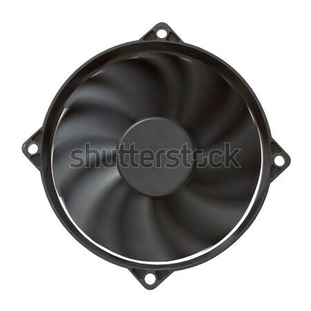компьютер вентилятор изолированный белый технологий Сток-фото © Avlntn