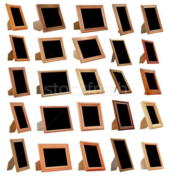 Vintage кадры набор изолированный белый фон Сток-фото © Avlntn