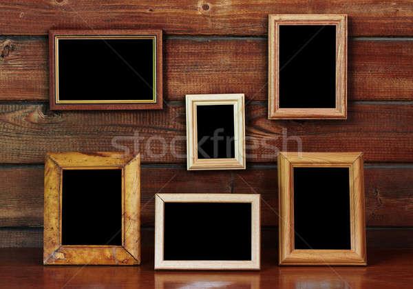старые фото кадры стены таблице дизайна Сток-фото © Avlntn