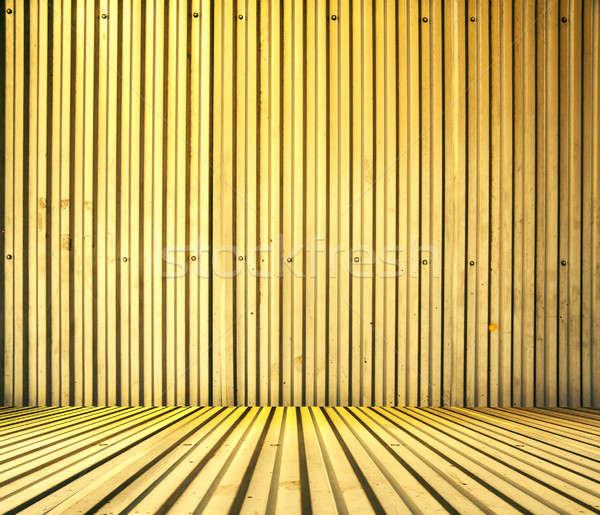 комнату металлический интерьер стены аннотация Сток-фото © Avlntn