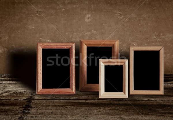 写真 フレーム 古い 表 壁 デザイン ストックフォト © Avlntn