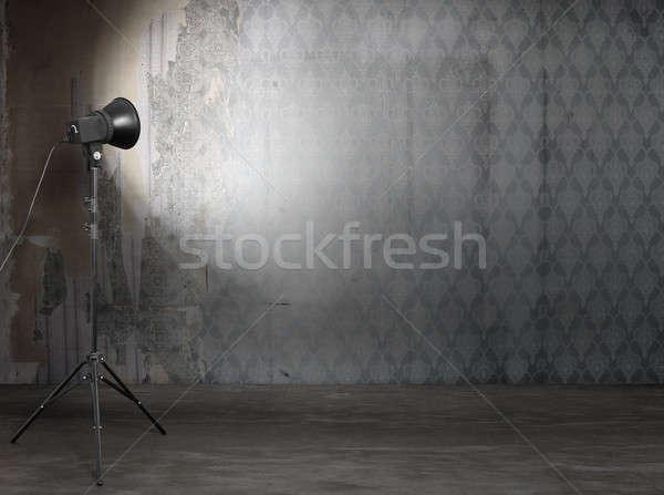 фото студию старые Гранж интерьер ретро Сток-фото © Avlntn