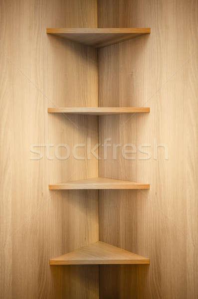 Legno angolo texture libro legno Foto d'archivio © Avlntn