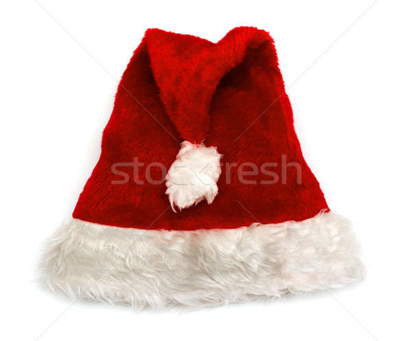 Santa red hat Stock photo © Avlntn