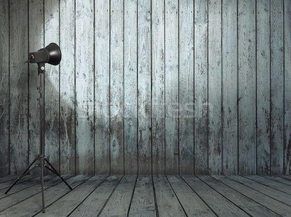 студию старые комнату фото стены Сток-фото © Avlntn