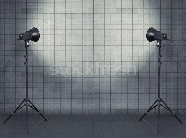 studio in modern interior Stock photo © Avlntn