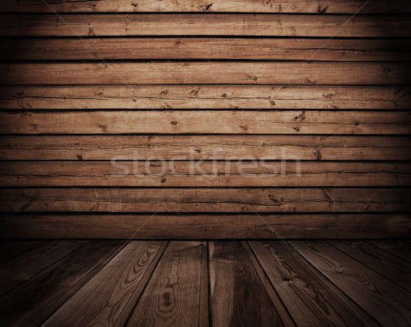 интерьер старые стены комнату этап Сток-фото © Avlntn