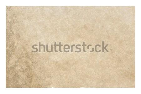 старой бумаги текстуры фон ржавчины желтый пергаменте Сток-фото © Avlntn