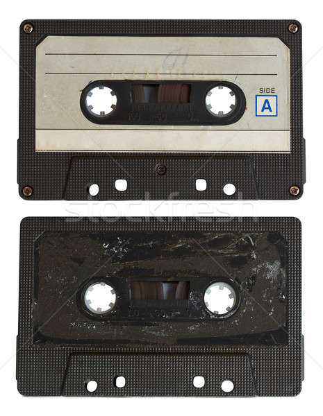 audio cassette isolated Stock photo © Avlntn