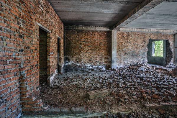 old abandoned unfinished building  Stock photo © Avlntn