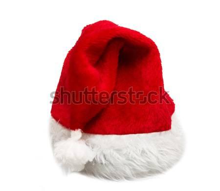 Santa red hat Stock photo © Avlntn