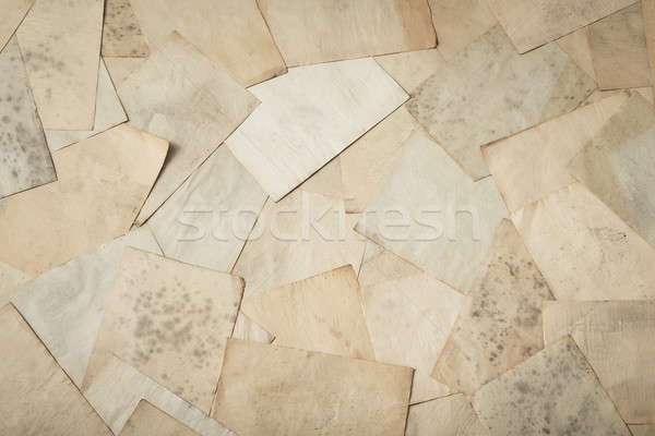 古い 論文 スタック 紙 背景 レトロな ストックフォト © Avlntn
