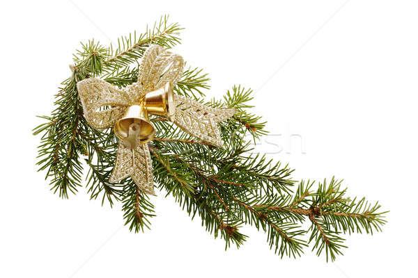 クリスマス 装飾 弓 孤立した 白 ツリー ストックフォト © Avlntn