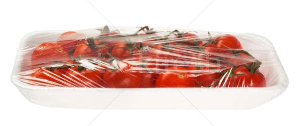 トマト 真空 孤立した 白 食品 ストックフォト © Avlntn