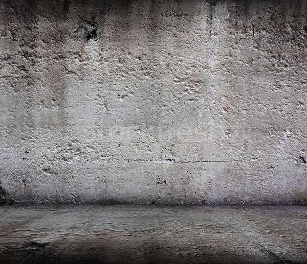 старые комнату Гранж дома стены антикварная Сток-фото © Avlntn