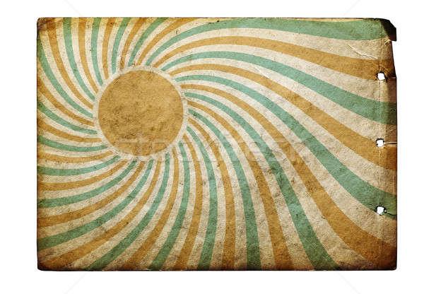 vintage sun rays Stock photo © Avlntn