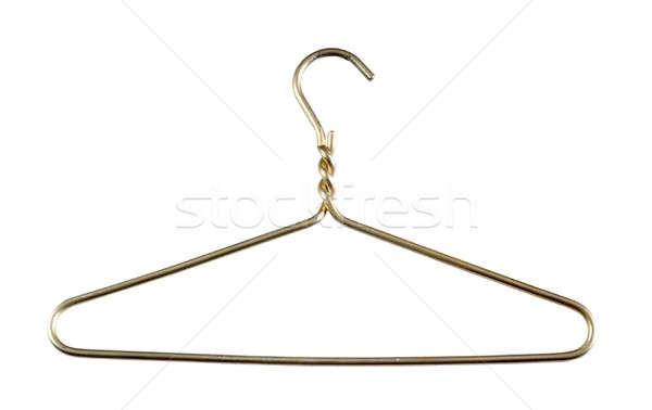 metallic clothes hanger Stock photo © Avlntn