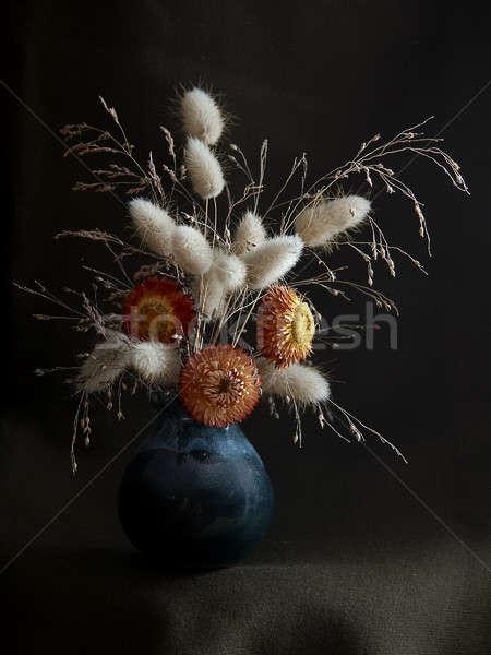 цветы природы лист жизни завода букет Сток-фото © Avlntn