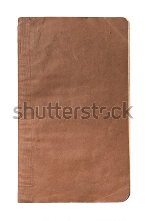 old book isolated on white background with clipping path  Stock photo © Avlntn