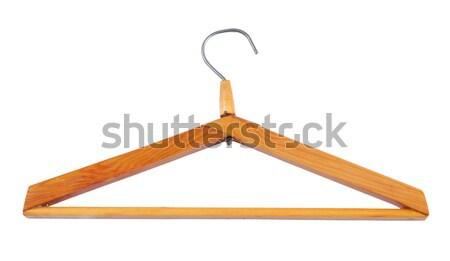 clothes hanger isolated on white background Stock photo © Avlntn
