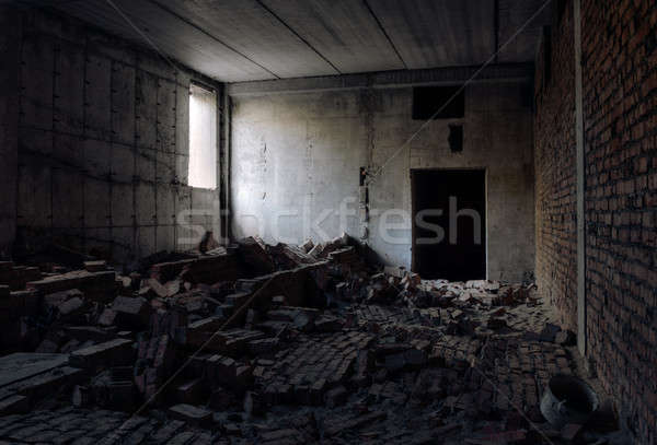 old abandoned building Stock photo © Avlntn