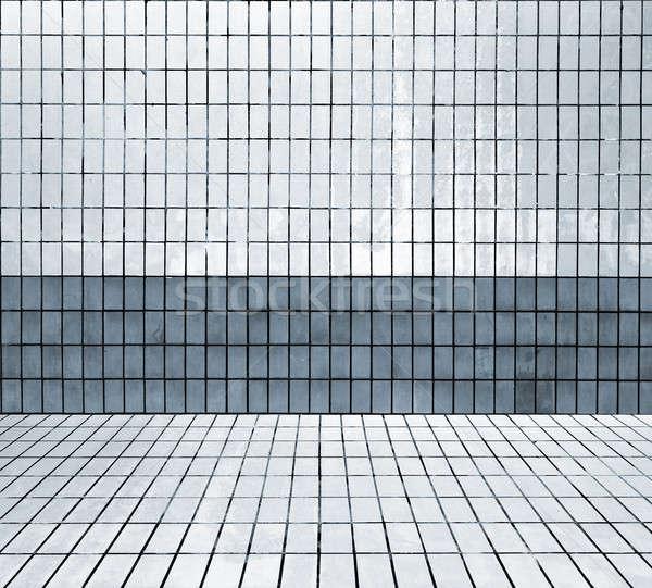 インテリア 現代 家 建設 壁 ストックフォト © Avlntn
