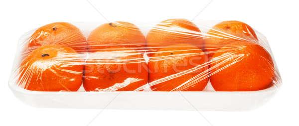 真空 孤立した 白 食品 フルーツ ストックフォト © Avlntn