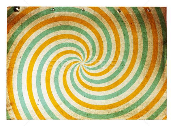старой бумаги ретро Гранж бумаги изолированный белый Сток-фото © Avlntn