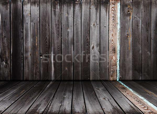 古い インテリア ヴィンテージ 木製 ルーム 壁 ストックフォト © Avlntn