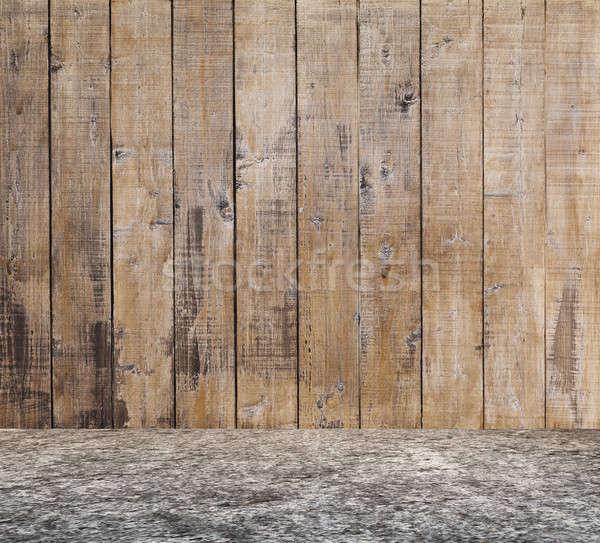 古い ルーム 具体的な 壁 家 ストックフォト © Avlntn