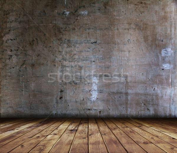 グランジ インテリア 古い 家 壁 ルーム ストックフォト © Avlntn