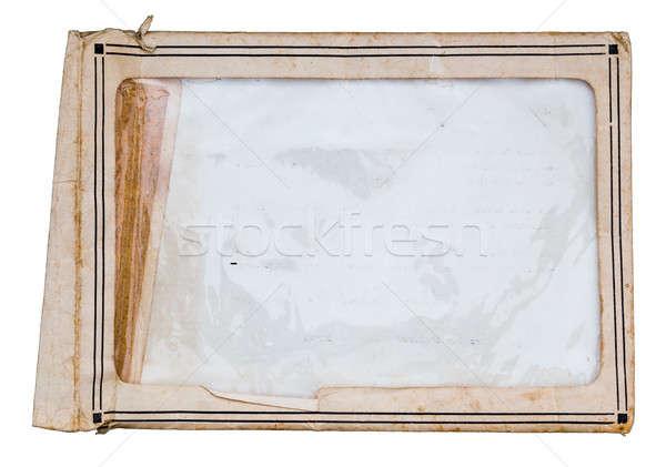 封筒 写真 孤立した 白 紙 ストックフォト © Avlntn