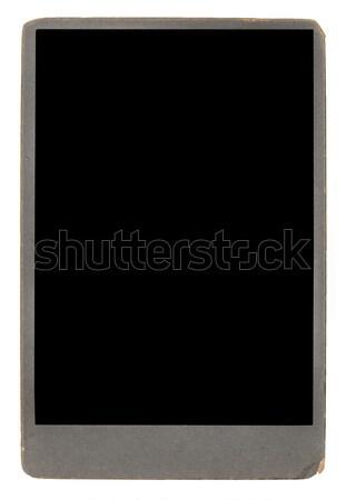 Bağbozumu fotoğraf yalıtılmış beyaz kâğıt Stok fotoğraf © Avlntn