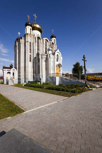Photo stock: Orthodoxe · église · Belarus · faible · république