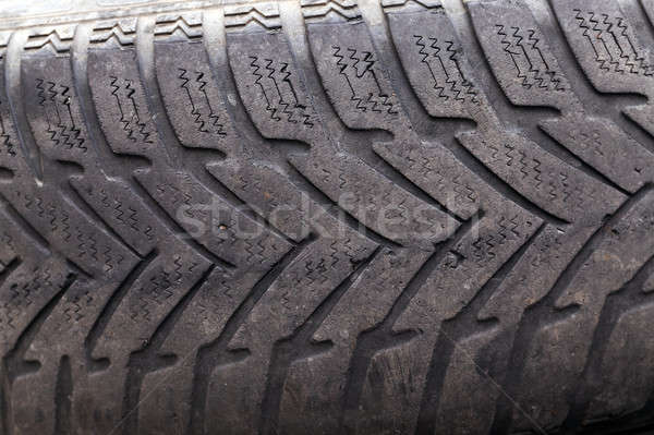 damaged tires   Stock photo © avq