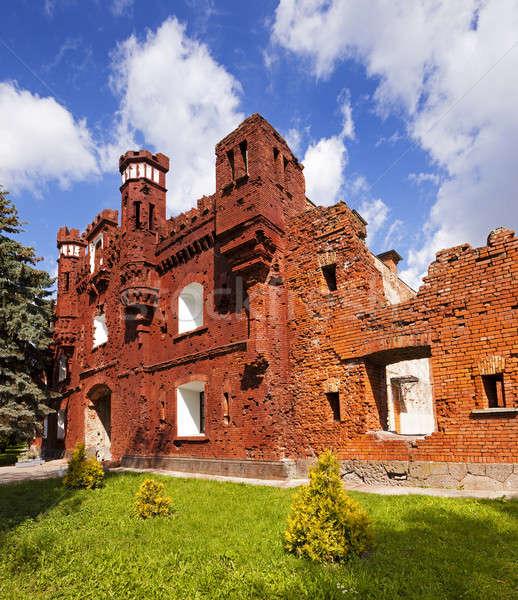Fortezza rovine conservato edifici Bielorussia costruzione Foto d'archivio © avq