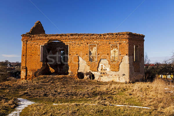Церкви руин древних город здании путешествия Сток-фото © avq