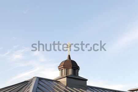 Orthodox Church in Belarus Stock photo © avq