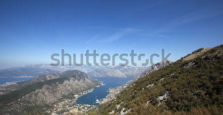 海 高さ モンテネグロ 水 自然 夏 ストックフォト © avq