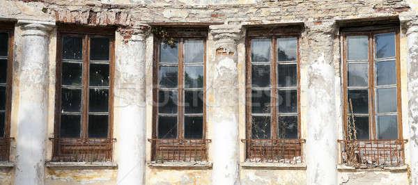 Unused ancient palace Stock photo © avq