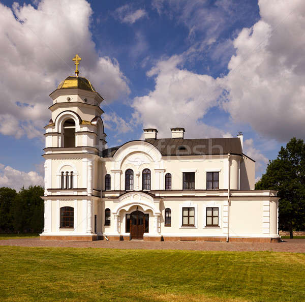 Ortodoks kilise kale çim Bina Stok fotoğraf © avq