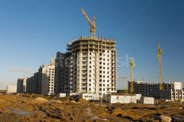Construcción nuevos casa realizado Foto stock © avq