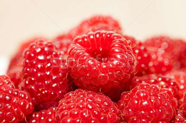 raspberry   Stock photo © avq