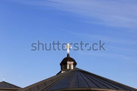 Ortodoxo iglesia Bielorrusia primer plano edad cruz Foto stock © avq