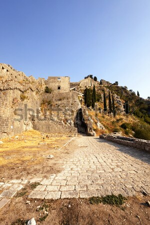 ストックフォト: 古代 · 市 · 遺跡 · モンテネグロ · 建物
