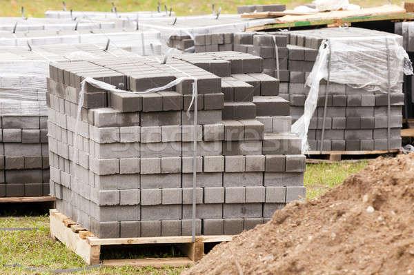 Stock photo: paving slabs